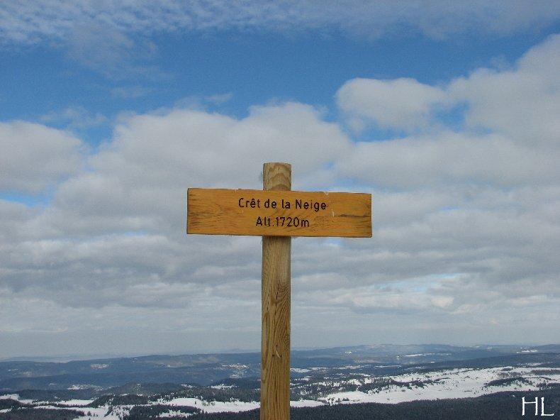 Au sommet de la Haute Chaine - Le Crêt de la Neige - 17/02/2010 0057