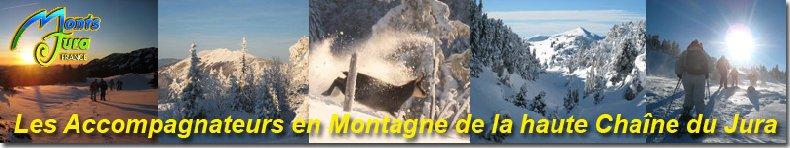 Au sommet de la Haute Chaine - Le Crêt de la Neige - 17/02/2010 Logo