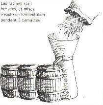 La Gentiane - Fleurs, Racines et Distillation - (25) 0008A