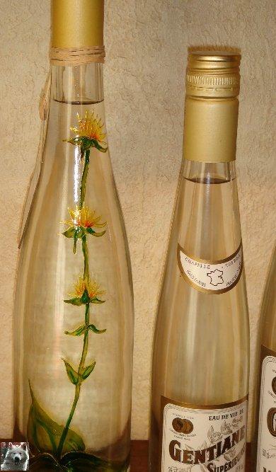 La Gentiane - Fleurs, Racines et Distillation - (25) 0012