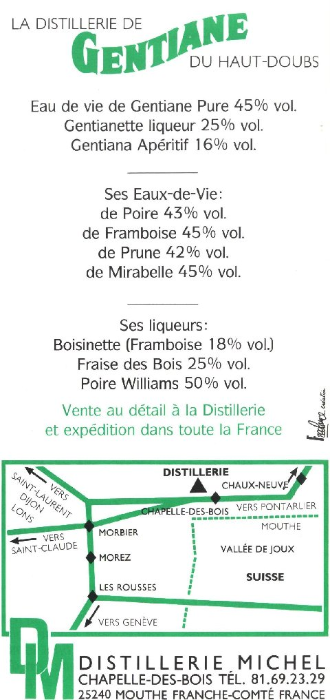 La Gentiane - Fleurs, Racines et Distillation - (25) 0017
