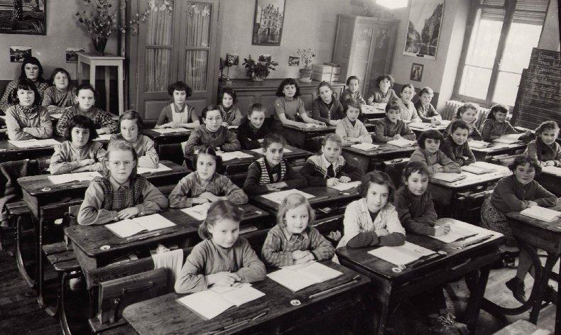Quelques photos d'école - Classe 1966 - à Saint-Claude (39) 1956-1957_cm2