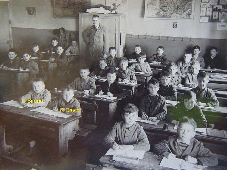 Quelques photos d'école - Classe 1966 - à Saint-Claude (39) Cm1