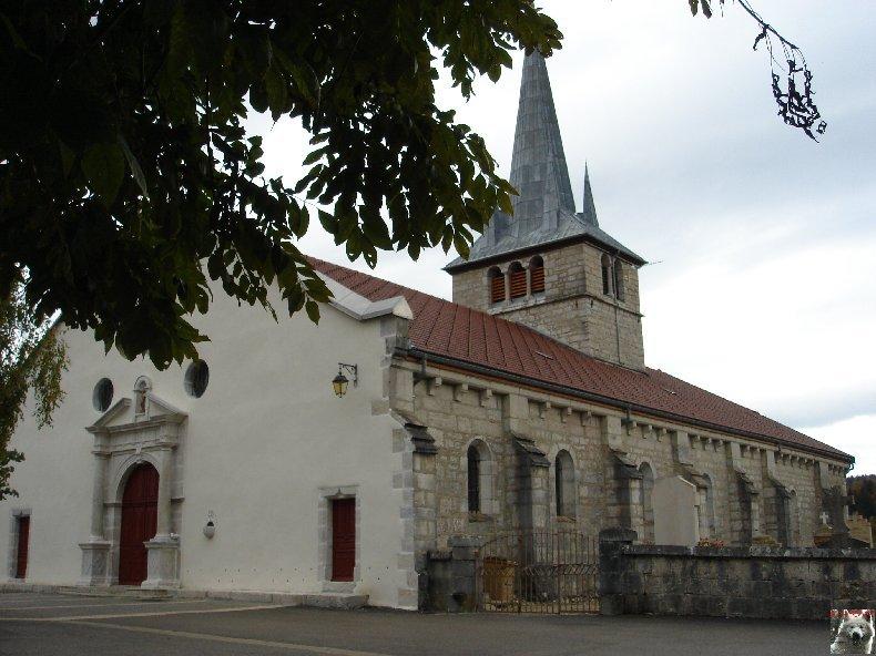 005 - Longchaumois (39) L'église St Jean Baptiste 0001