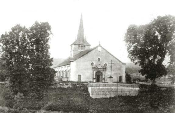 005 - Longchaumois (39) L'église St Jean Baptiste 0001a