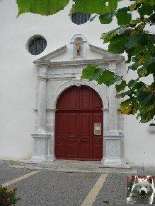 005 - Longchaumois (39) L'église St Jean Baptiste 0002