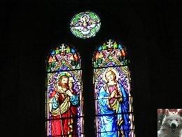 005 - Longchaumois (39) L'église St Jean Baptiste 0016