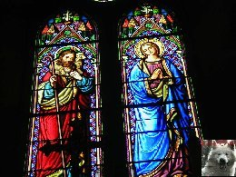 005 - Longchaumois (39) L'église St Jean Baptiste 0019