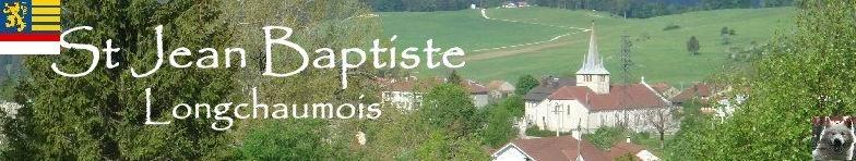 005 - Longchaumois (39) L'église St Jean Baptiste Logo