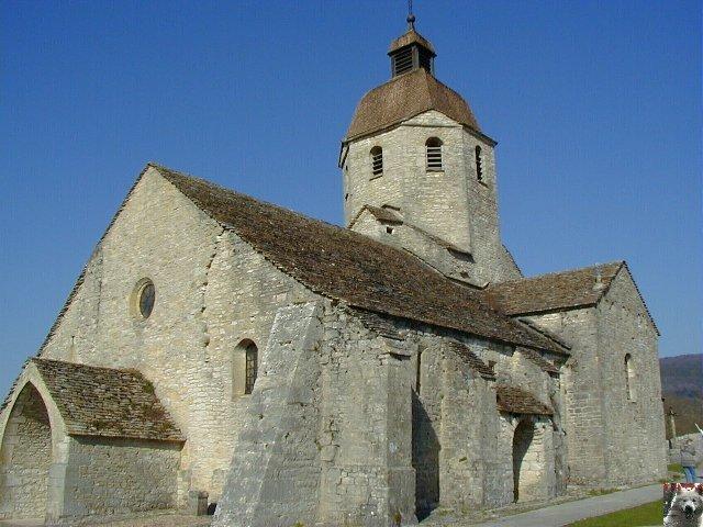 048 - St-Hymetière (39) L'église Ste Marie 0001
