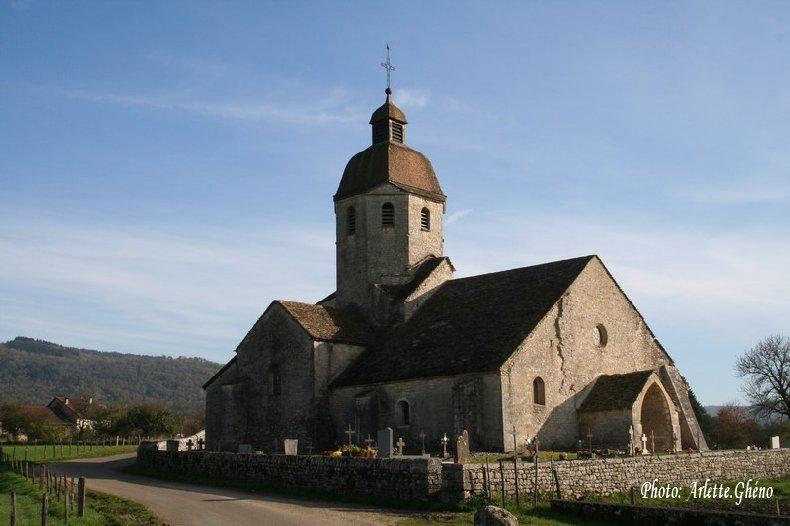 048 - St-Hymetière (39) L'église Ste Marie 0002a