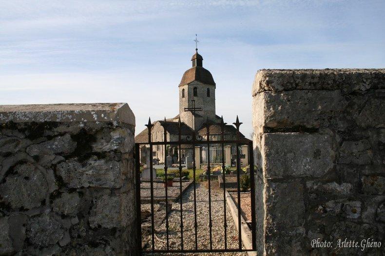 048 - St-Hymetière (39) L'église Ste Marie 0002b