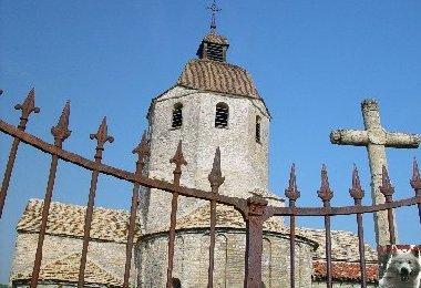 048 - St-Hymetière (39) L'église Ste Marie 0004
