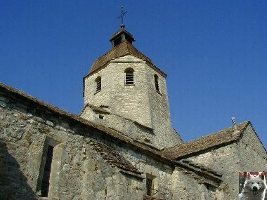048 - St-Hymetière (39) L'église Ste Marie 0006