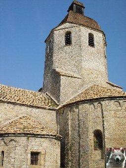 048 - St-Hymetière (39) L'église Ste Marie 0009