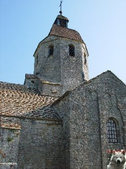 048 - St-Hymetière (39) L'église Ste Marie 0010