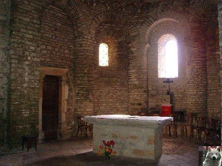 048 - St-Hymetière (39) L'église Ste Marie 0014