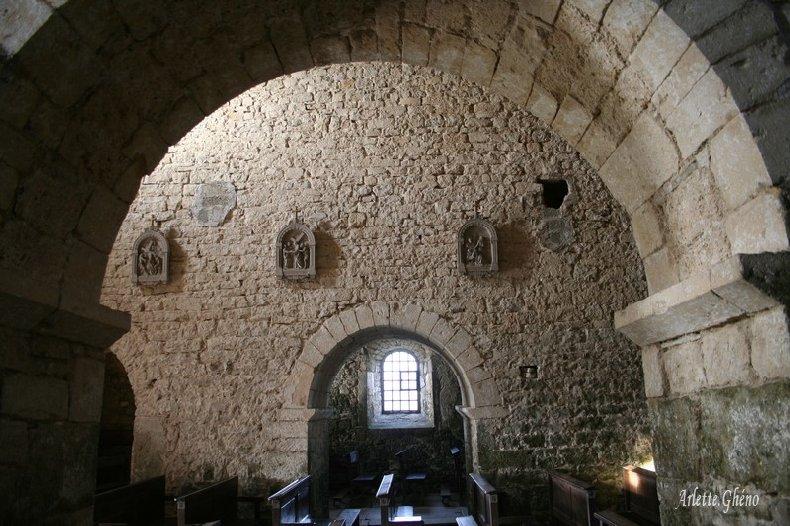 048 - St-Hymetière (39) L'église Ste Marie 0014a