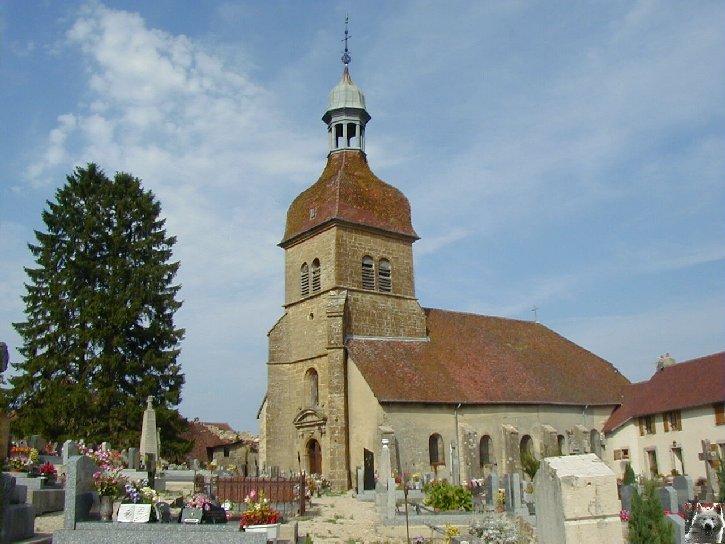 046 - Saint-Lothain (39) L'église 0001