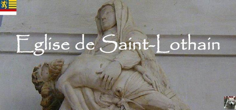 046 - Saint-Lothain (39) L'église Logo