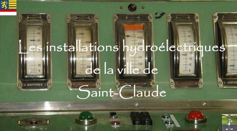 Le barrage d'Etables et la centrale de Porte-Sachet (39) 0000