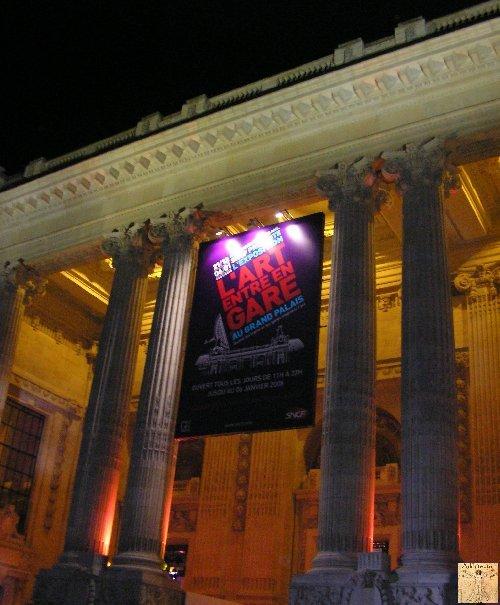 Exposition SNCF - Grand Palais - Paris Fin