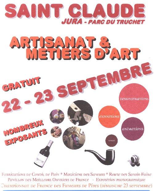 2007-09-23 : Artisanat et Métiers d'art - St-Claude (39) 0001