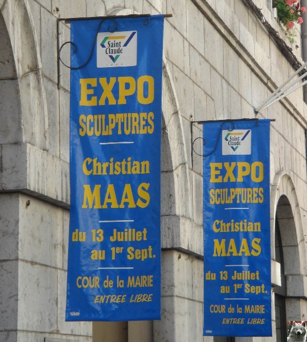 2007-08-24 : Exposition Christian Maas - Mairie de Saint-Claude (39) 0001