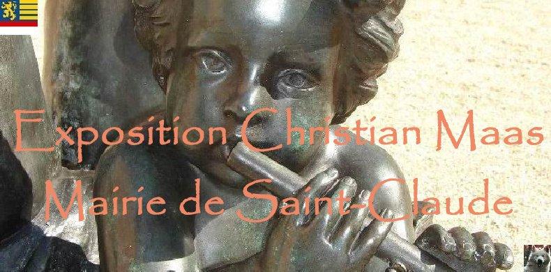 2007-08-24 : Exposition Christian Maas - Mairie de Saint-Claude (39) Logo