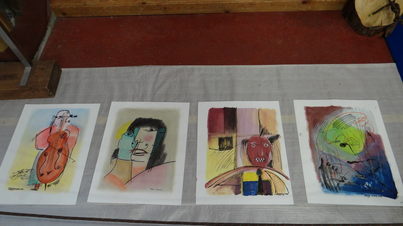 2015-08-01 : Exposition Fred Mazuir à Longchaumois (39) 003
