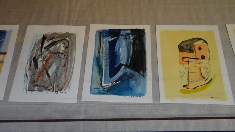 2015-08-01 : Exposition Fred Mazuir à Longchaumois (39) 006