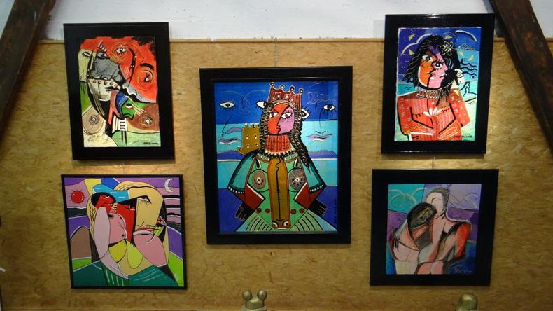 2015-08-01 : Exposition Fred Mazuir à Longchaumois (39) 019