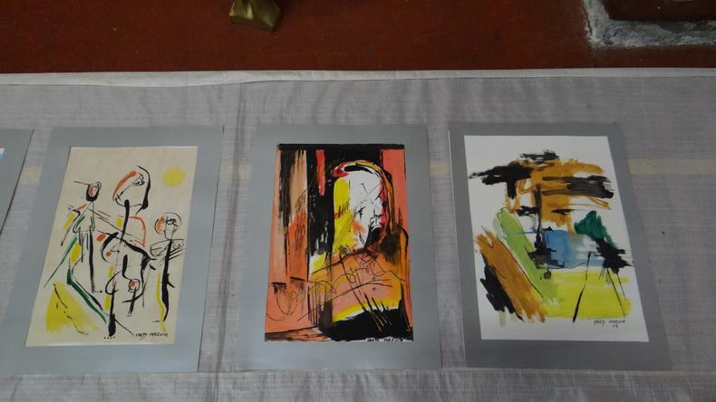 2015-08-01 : Exposition Fred Mazuir à Longchaumois (39) 022