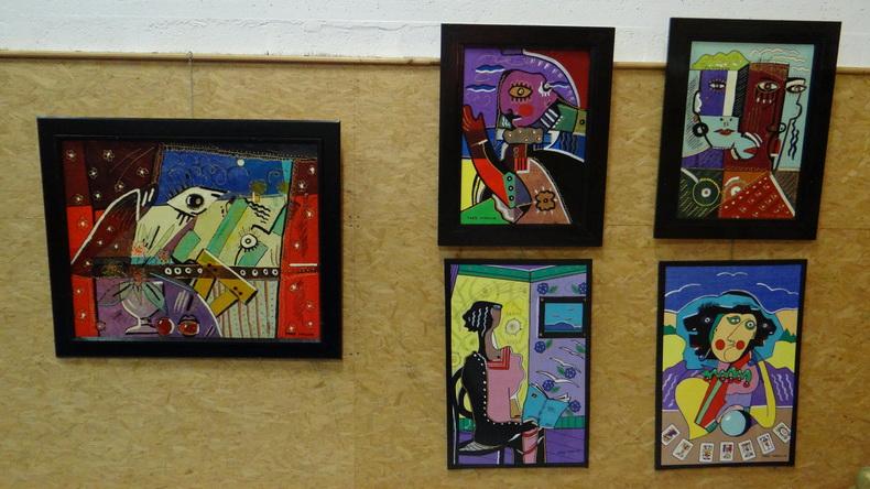 2015-08-01 : Exposition Fred Mazuir à Longchaumois (39) 029