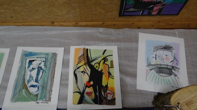 2015-08-01 : Exposition Fred Mazuir à Longchaumois (39) 030