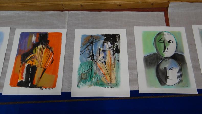 2015-08-01 : Exposition Fred Mazuir à Longchaumois (39) 031