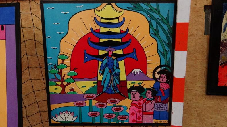 2015-08-01 : Exposition Fred Mazuir à Longchaumois (39) 035