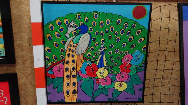 2015-08-01 : Exposition Fred Mazuir à Longchaumois (39) 037