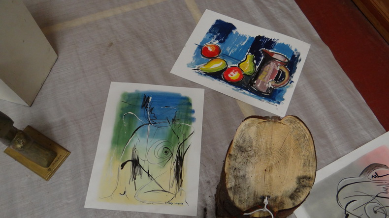 2015-08-01 : Exposition Fred Mazuir à Longchaumois (39) 042