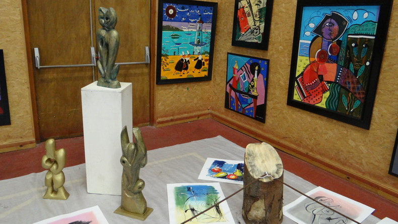 2015-08-01 : Exposition Fred Mazuir à Longchaumois (39) 045