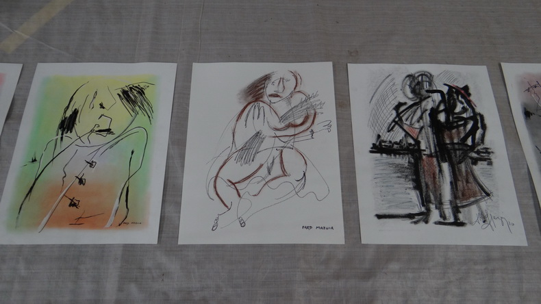 2015-08-01 : Exposition Fred Mazuir à Longchaumois (39) 050