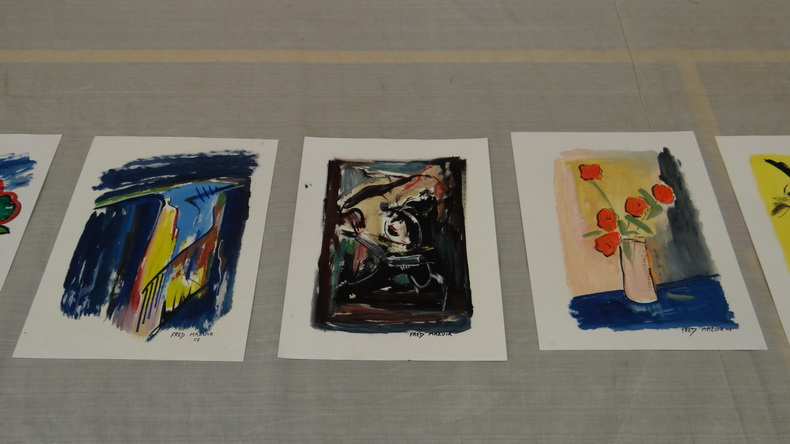 2015-08-01 : Exposition Fred Mazuir à Longchaumois (39) 062