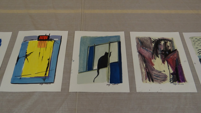 2015-08-01 : Exposition Fred Mazuir à Longchaumois (39) 066