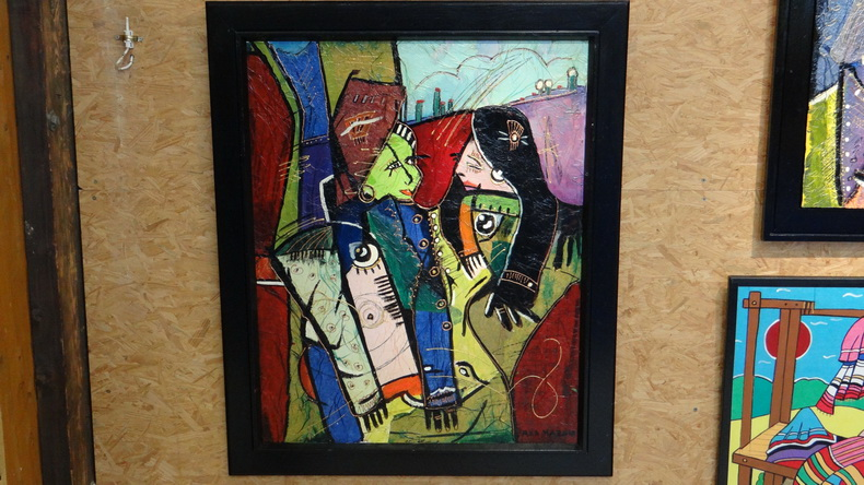 2015-08-01 : Exposition Fred Mazuir à Longchaumois (39) 068