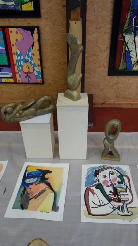 2015-08-01 : Exposition Fred Mazuir à Longchaumois (39) 069