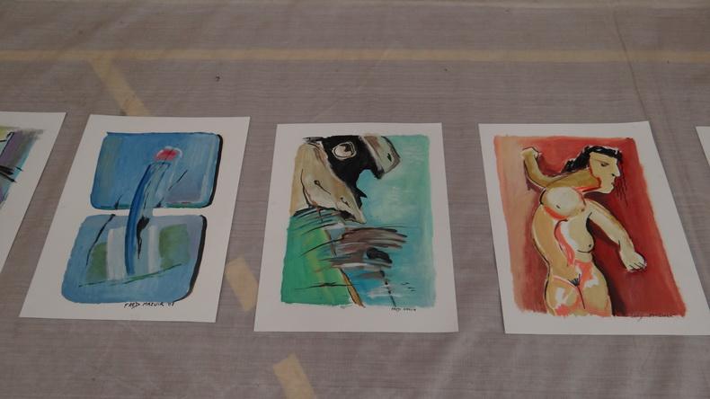 2015-08-01 : Exposition Fred Mazuir à Longchaumois (39) 072