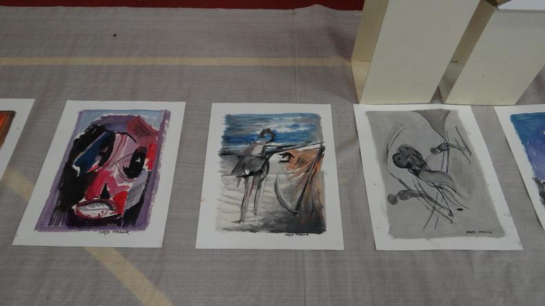 2015-08-01 : Exposition Fred Mazuir à Longchaumois (39) 076