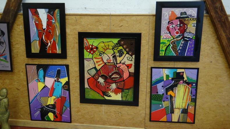 2015-08-01 : Exposition Fred Mazuir à Longchaumois (39) 077