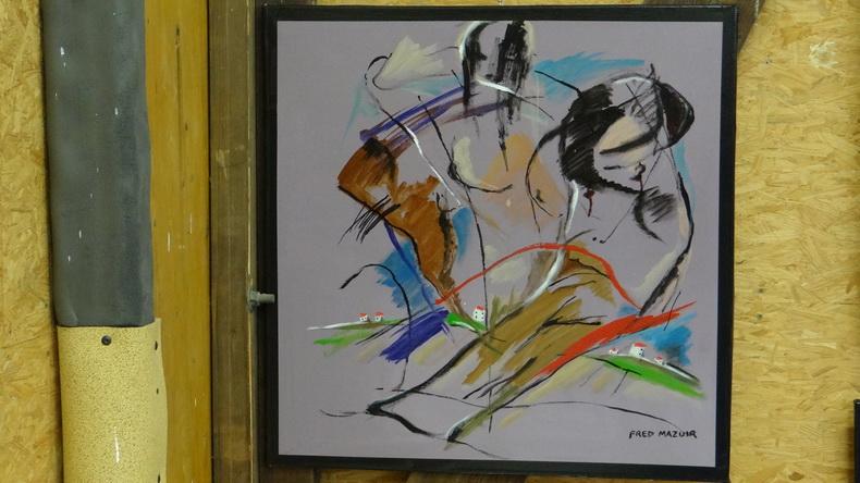 2015-08-01 : Exposition Fred Mazuir à Longchaumois (39) 080