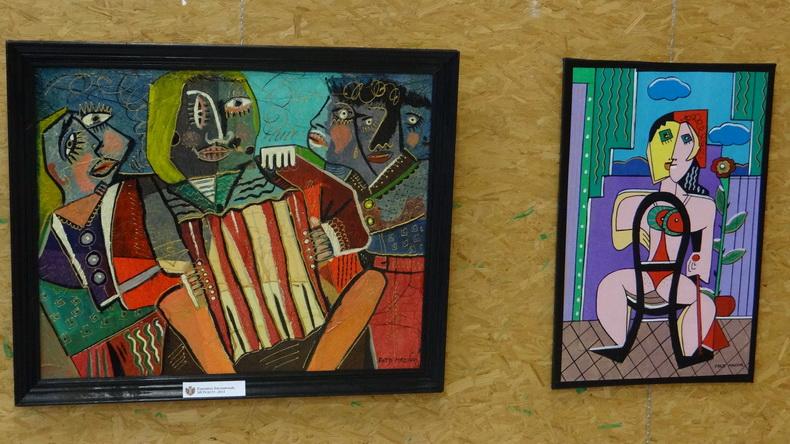 2015-08-01 : Exposition Fred Mazuir à Longchaumois (39) 083